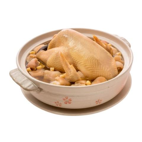 鳳貝砂鍋雞